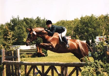 Ele Goldstein Dewar with Exclusive Spruce Meadows in Canada